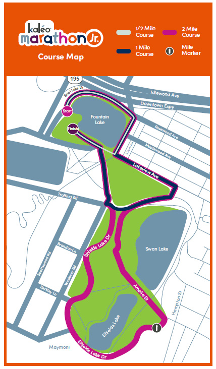 Marathon Jr. Course Map