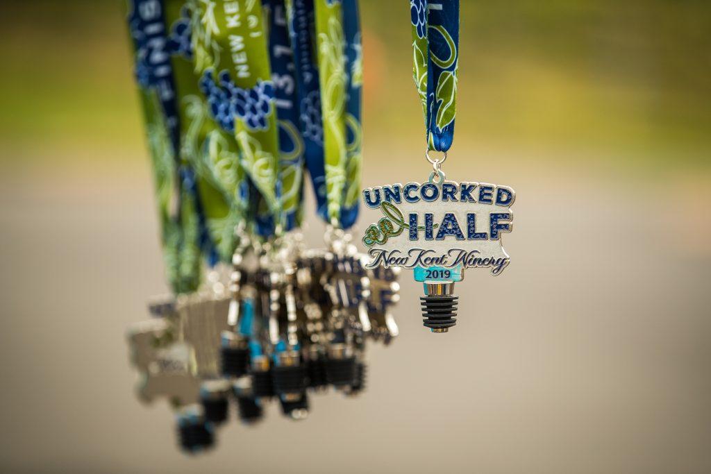 Uncorked Half & 5k Medal 2019