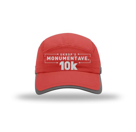 33c09e2e359 10k  Tech Hat with Arrow Logo - Red - Sports Backers