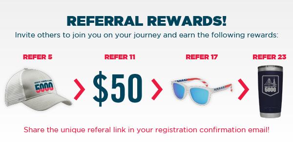 Great American 5000 Referral Rewards