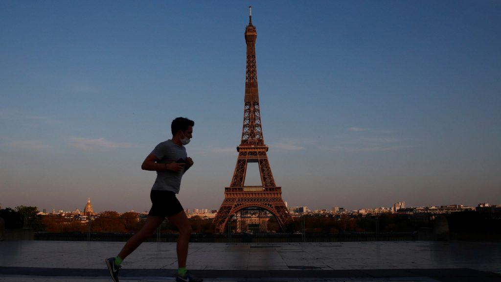 Running in Paris