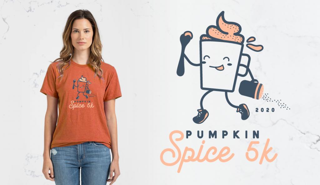 Pumpkin Spice 5k Shirt