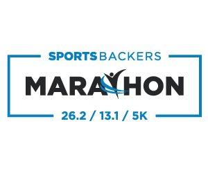Sports Backers Marathon Logo